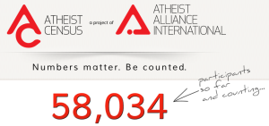 Atheist Census - 18-12-2012