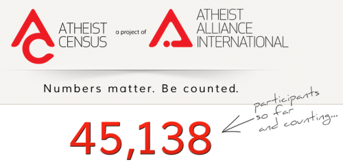 Atheist Census - Numbers matter. Be counted.